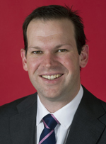 Official portrait of Matthew Canavan